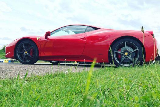 Ferrari 458 Experience 3 Miles + Free High Speed Ride
