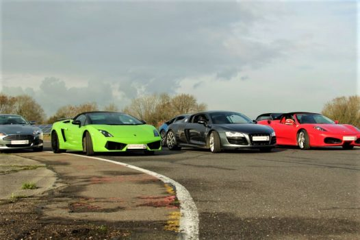 Supercar Experience 4 cars + FREE High Speed Ride