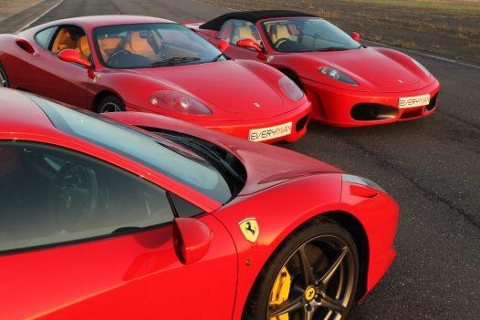Goodwood Ultimate Ferrari Experience + Free High Speed Ride