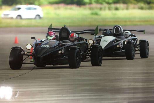 Ariel Atom High Speed Ride for 2 laps