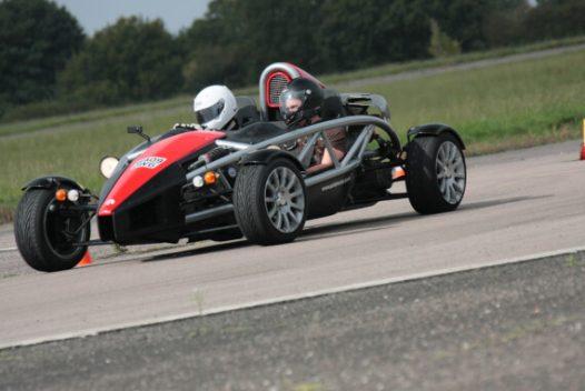 Single Super Platinum Supercar Experience 3 Miles + Ariel Atom High Speed Ride
