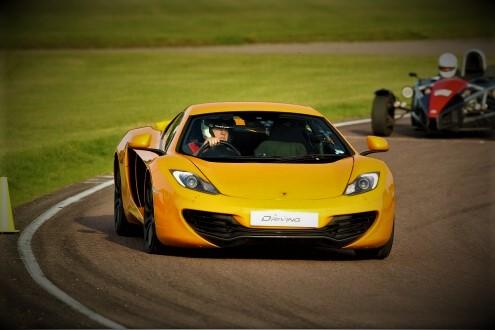 McLaren MP4-12C Experience 3 Miles + Free High Speed Ride