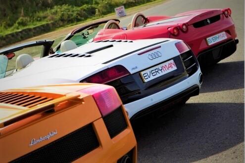 Three Car Thrill (Anytime)