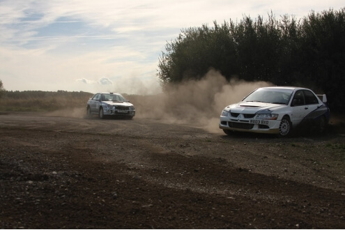 Double Rally Car Experience 12 Laps in each (Weekday)