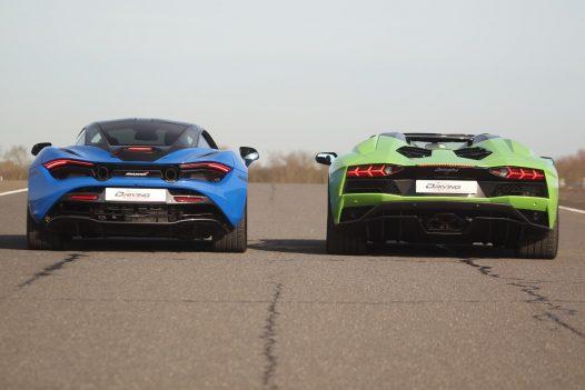 Diamond Supercar Experience 2 Cars  + FREE High Speed Ride