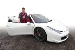 Junior Supercar Experience 2 cars + Free High-Speed Ride (Anytime)