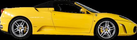 Yellow Ferrari F430