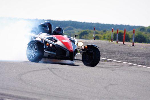 Premium Circuit Super Car High Speed Passenger Ride 2 Cars