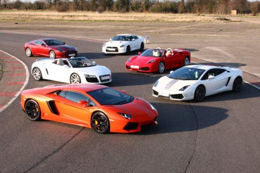 Supercar Experience 6 cars